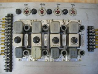 Westrex (Western Electric) RA - 1474a tube preamps (4) 1951 PRICE LOWERED 12