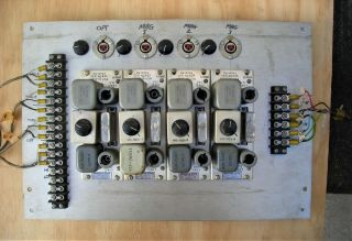 Westrex (western Electric) Ra - 1474a Tube Preamps (4) 1951 Price Lowered