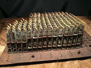 1948 Ibm 604 Computer Section,  Including About 140 Th - 537 Finger Modules