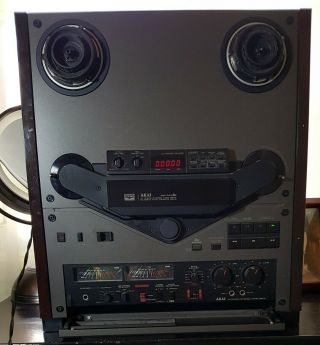 Akai 747 Dbx Reel To Reel Machine,  Well Cared For -