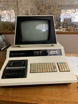 Commodore Pet 2001 - 8 Chips From 1977