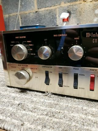 MCINTOSH C11 VACUUM TUBE STEREO PREAMPLIFIER GORGEOUS 5