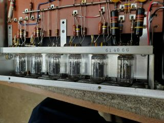 MCINTOSH C11 VACUUM TUBE STEREO PREAMPLIFIER GORGEOUS 6