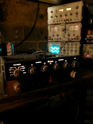 MCINTOSH C11 VACUUM TUBE STEREO PREAMPLIFIER GORGEOUS 8