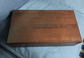 Match 4 Tube Western Electric WE 300B in wood box 2007 NOS 2