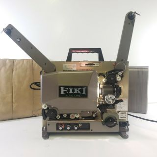 Eiki Snt - 0 Snt Slim Line 16mm Film Projector With Cover