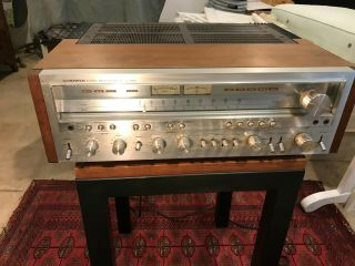 Pioneer Sx - 1250 Stereophonic Receiver (re - Listed,  See Apology In Description)