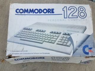 Commodore 128 With 1571 Disk Drive,  Game,  Manuals/inserts
