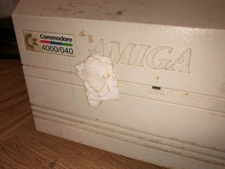 Amiga 4000/040 commodore with Video Toaster software 3
