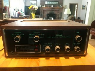 Mcintosh C27 Preamplifier - One Owner,  With Documentation