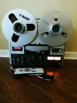 Revox Pr99 Mk Iii Reel To Reel 3 3/4 - 7 1/2 - With Remote And Read