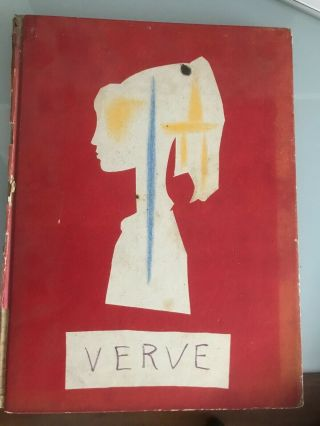 Verve - The French Review Of Art,  Vol.  Viii,  No.  29/30 By Pablo Picasso
