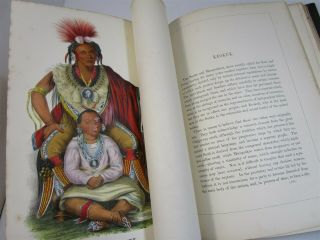 History of Indian Tribes of North America Vol.  1 & 2 1872 Thomas McKenney 6