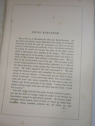 History of Indian Tribes of North America Vol.  1 & 2 1872 Thomas McKenney 7
