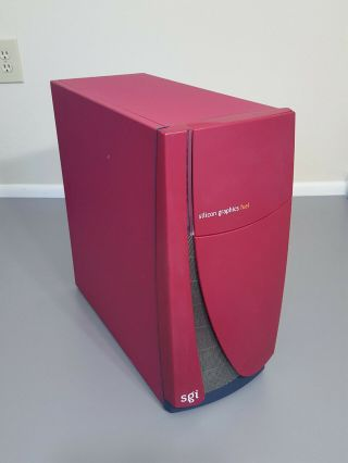 Silicon Graphics Sgi Fuel 600mhz V10 3gb Dvd Tape Irix 6.  5.  30