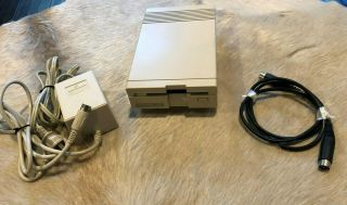 Commodore 1581 3.  5 Inch Floppy Disk Drive W/ps - Tested/cleaned C64 C128 Vic20