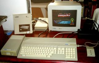 Atari 520st Complete System W.  Monitor,