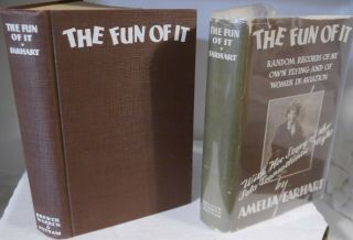"Amelia Earhart Autographed Book - "" The Fun Of It "" - 1st Edition -"
