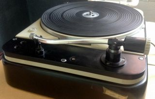 Thorens TD 124,  2 Ortofon carts,  SMG - 212 arm and SUTs 3