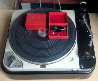 Thorens TD 124,  2 Ortofon carts,  SMG - 212 arm and SUTs 7