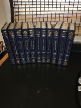 C S Forester 11 Volume Easton Press Set 2001 Leather Hcs