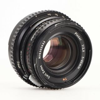 :hasselblad Carl Zeiss Planar 80mm F2.  8 T Black Lens -