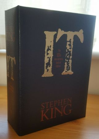 Stephen King It Cemetery Dance Signed Limited Edition 390/750 In Traycase