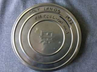 16mm Reel Of The Holy Lands In 1932