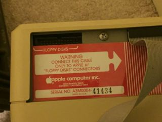 Apple III 256K with Monitor and External Floppy Drive and 12