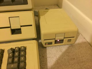 Apple III 256K with Monitor and External Floppy Drive and 8