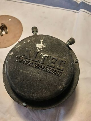 Altec Lansing 802 - B Compression Driver.  Early 15ohm Version Vott