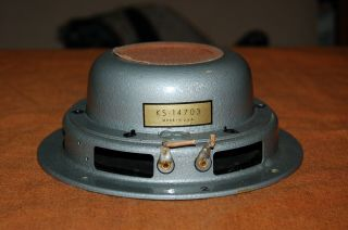 "Western Electric Ks - 14703 8 "" Fullrange Driver Altec 755a"