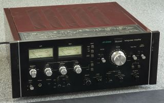 Sansui Au - 20000 Integrated Amplifier W/meters - 170w/ch Retail $1000