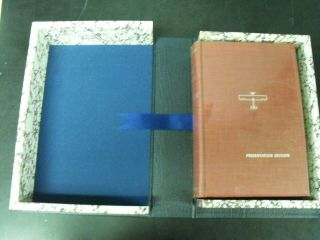 The Spirit Of Saint Louis Presentation Edition Signed By Charles Lindbergh