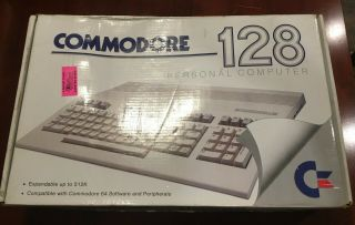 Commodore 128 Personal Computer - - -