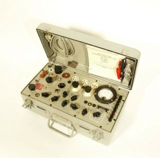 Outstanding TV - 7 Military Tube Tester Serviced & Calibrated by Dan Nelson 2/2019 4