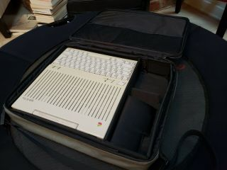 Apple Iic,  In Apple Carrying Case