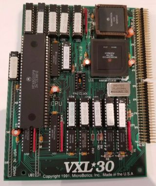 Commodore Amiga 500 / 2000 Microbotics Vxl30 Accelerator And Vxl Ram - 32 - Boxed