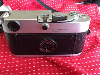 Leica M6 Rangefinder With Lens And Case 5