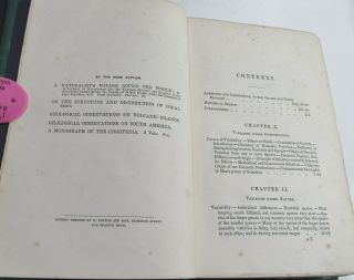 CHARLES DARWIN ORIGIN OF SPECIES/1861/3rd Ed.  with ADDITIONS & CORRECTIONS $10K, 12