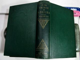 CHARLES DARWIN ORIGIN OF SPECIES/1861/3rd Ed.  with ADDITIONS & CORRECTIONS $10K, 2