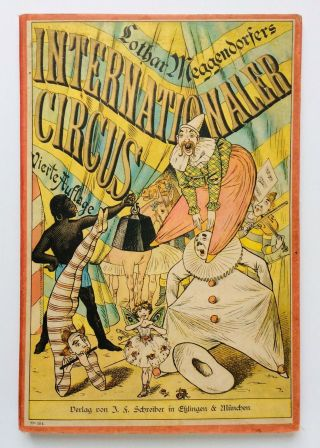 "1901 (4th Ed) Lothar Meggendorfer's ""internationaler Circus"" German Pop - Up Book"