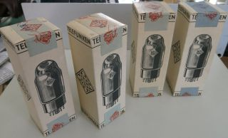 Quad El34 Telefunken Early Fine Quality In Grey Boxes