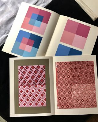 Joseph Albers Interaction Of Color First Ed 1963 The COMPLETE SET Ltd Ed Prints 12