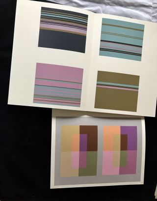 Joseph Albers Interaction Of Color First Ed 1963 The COMPLETE SET Ltd Ed Prints 9