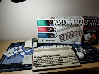 Amiga 500 System - Ntsc - With Hc508cr Accelerator -