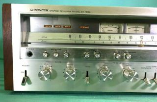 Pioneer Sx - 1250 Stereophonic Receiver -