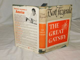 The Great Gatsby F.  Scott Fitzgerald Grosset & Dunlap 1925 Early Reprint
