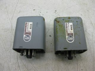 2 Altec Peerless 4665 Input Transformer For Western Electric 618b