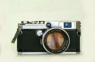 Canon L1 The Last And Best Rangefinder Model Compatible With M39 Leica Mount